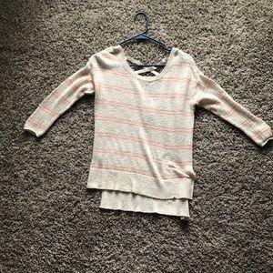 Aerie stripe sweater
